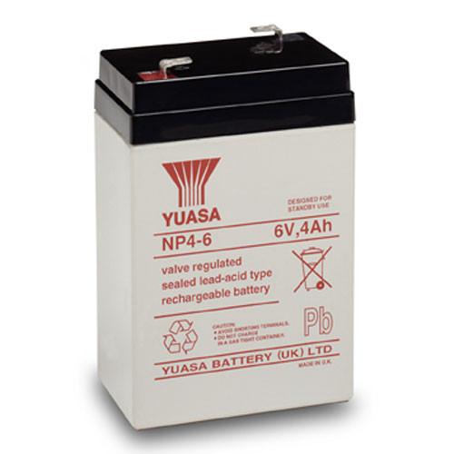 YUASA-NP4-6 Image 1 Front