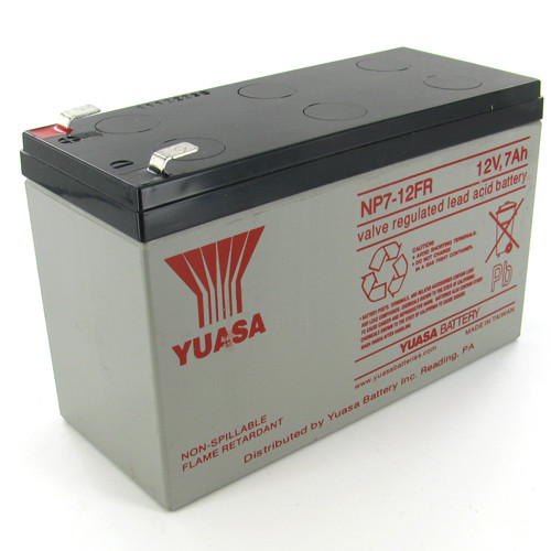 YUASA-NP7-12FR-F1 Image 1 Front