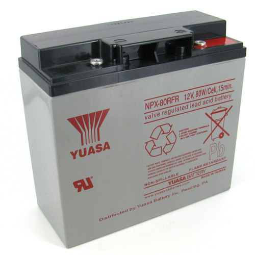 YUASA-NPX-80RFR Image 1 Front