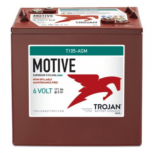 Trojan Motive T105 Deep-Cycle AGM Battery - Special Order Battery
