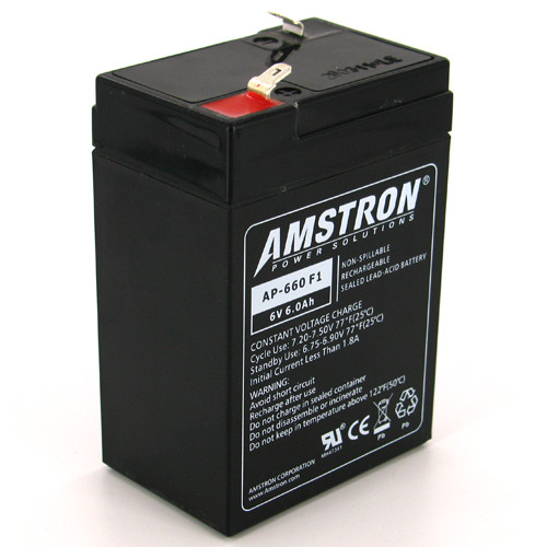 AGM VRLA Replacement Battery Kung Long WP4.5-6 6V 4.5Ah Sealed Lead Acid