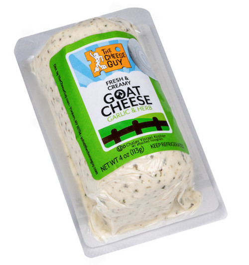 Goat Cheese with Garlic and Herbs (now Chalav Yisrael)