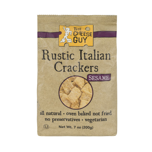 3 Pack of Rustic Italian Crackers - Sesame