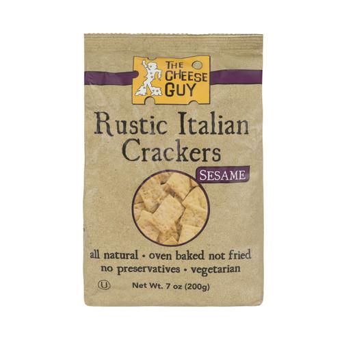 3 Pack of Rustic Italian Crackers - Sesame