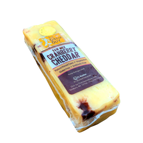 Raw Milk Cranberry Cheddar