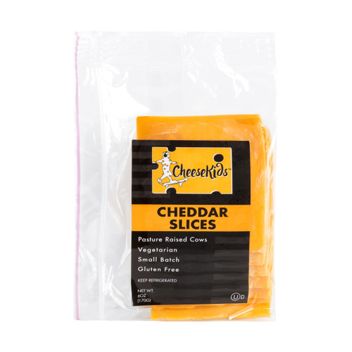 Sliced Yellow Cheddar