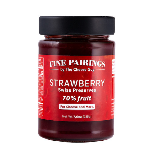 Strawberry Swiss Preserves