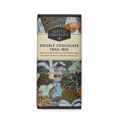 Double Chocolate Trail Mix Truffle Bar