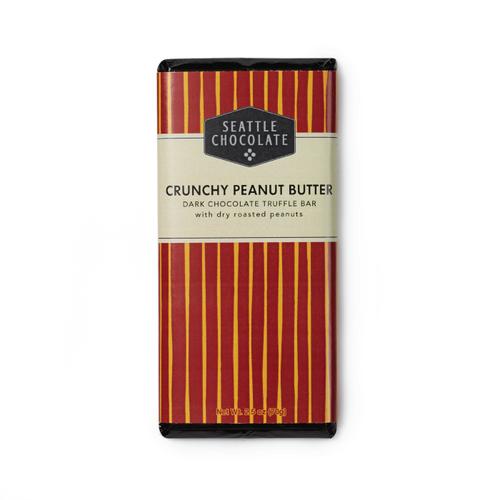 Crunchy Peanut Butter Truffle Bar