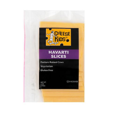 Sliced Creamy Havarti