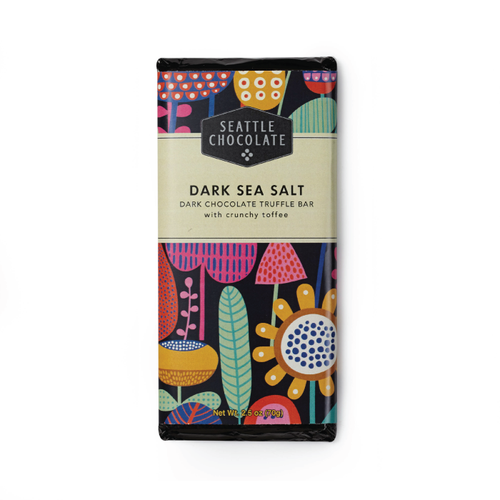 Dark Sea Salt Toffee Truffle Bar