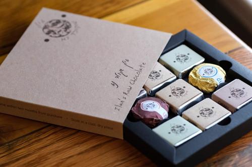Assorted Raw Chocolate Gift Box Sampler