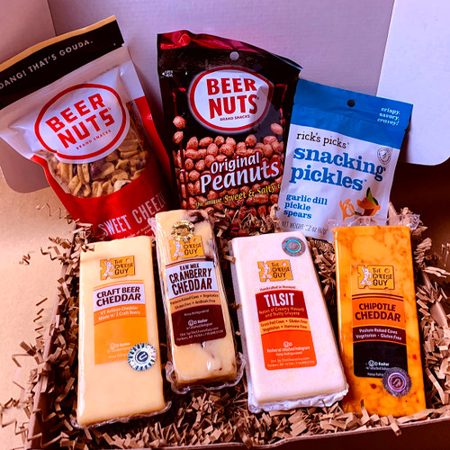 Ale to the Cheese Gift Box (just add beer)