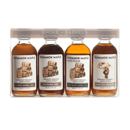 Organic Smoke and Barrels Pairing Maple Syrup Selection