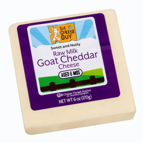 Raw Milk Goat Cheddar