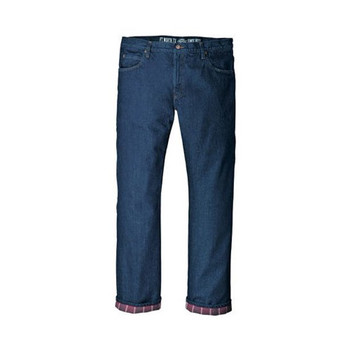 Dickies Relaxed Fit Straight Leg Flannel-Lined