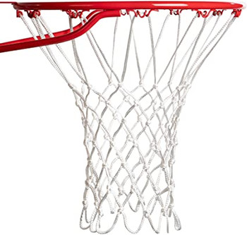 Champion Sports Deluxe White Basketball Net