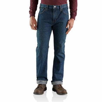Carhartt Relaxed Fit Straight Knit Lined Jean