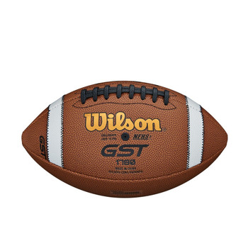 GST Football With Composite Stripe