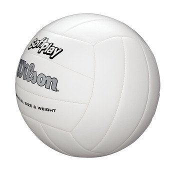 Wilson Soft Play Volleyball White