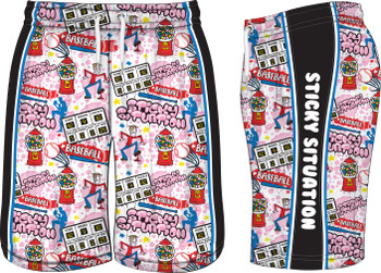 Lifestyles Sports Youth Sticky Situation Shorts