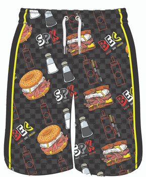 Lifestyles Sports Youth Bacon Egg and Cheese Short