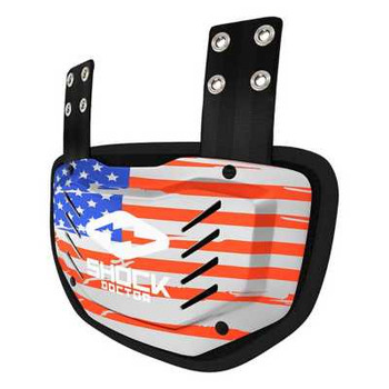 Shock Doctor Showtime USA Back Plate