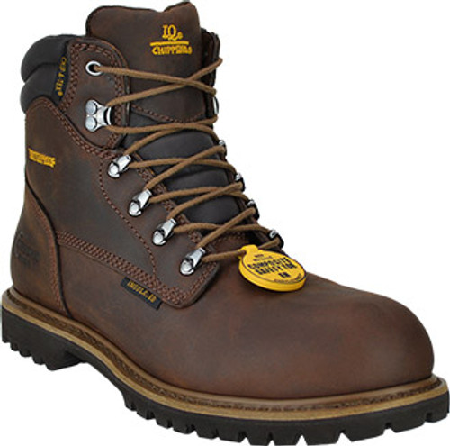 """Chippewa Men's 6"""" Composite Toe WP/Insulated Work Boot"""