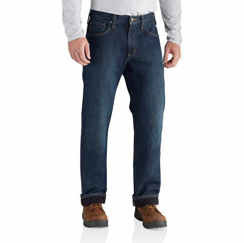 Carhartt Relaxed Fit Holter Fleece Lined Jean