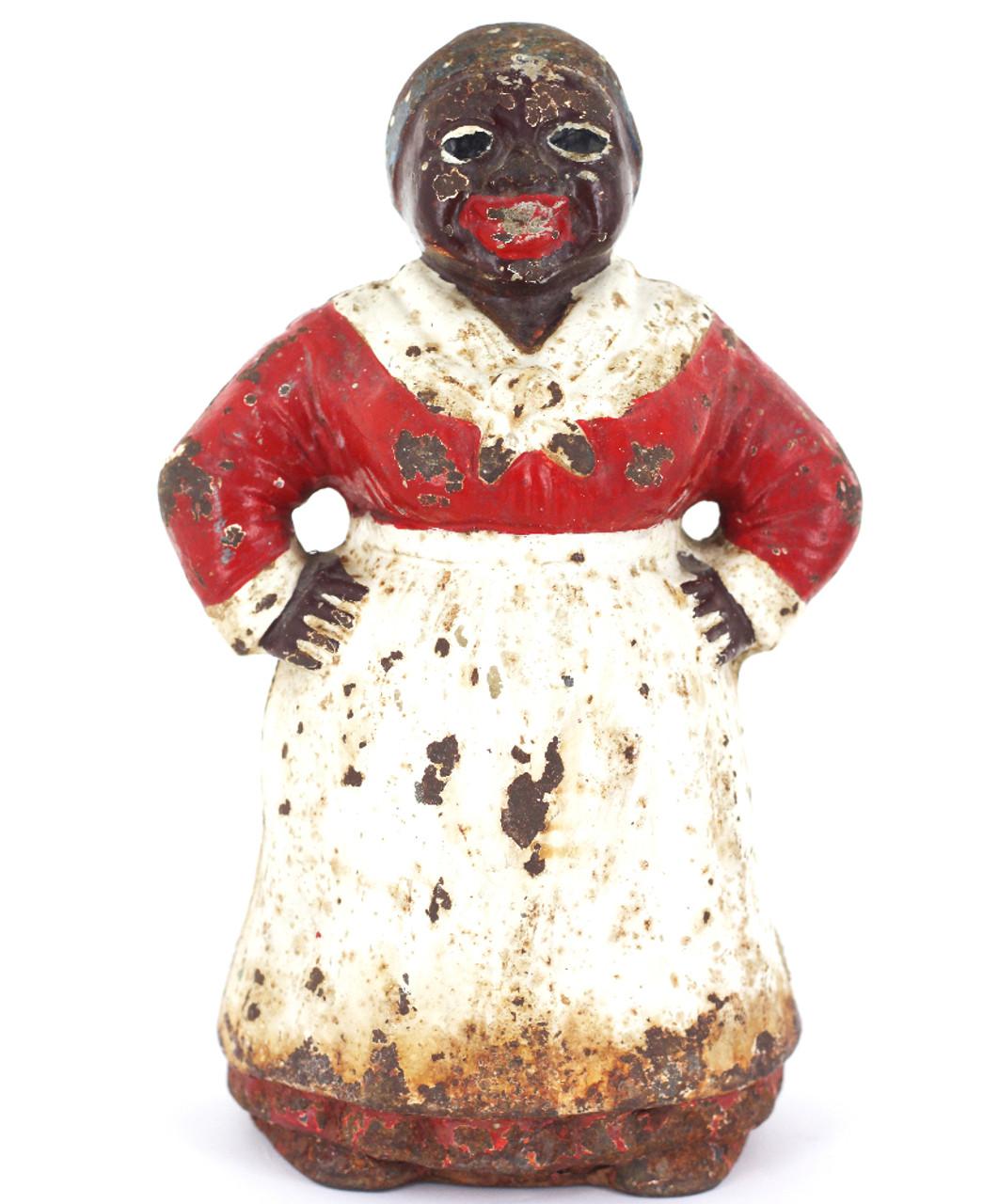 5 Thimbles Black Americana Collectable Aunt Jemima Mammy,