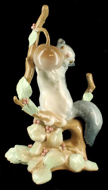 "Vintage Lladro Dormouse ""Liron"" Porcelain Figurine Retired #4774 No Box"