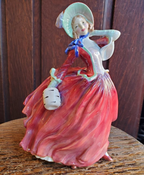 Vintage Royal Doulton Autumn Breezes Figurine Bone China HN1934 Rd No 835666