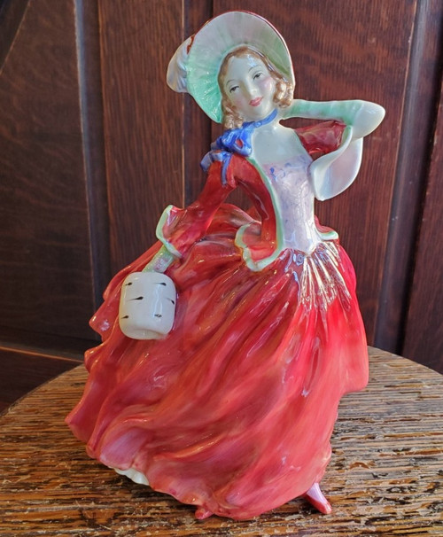 Royal Doulton Autumn Breezes Figurine Vintage Bone China HN1934 Rd No 835666