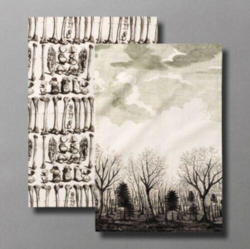 JOHN DERIAN for Target Threshold Bone Chilling Tea Towels 2pc Set NWT