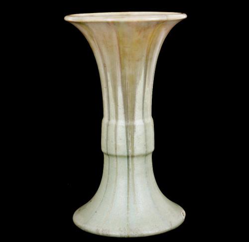 "Antique Rare Clifton Art Pottery 1906 Arts&Crafts Crystalline Glaze Vase Sgn 11"""