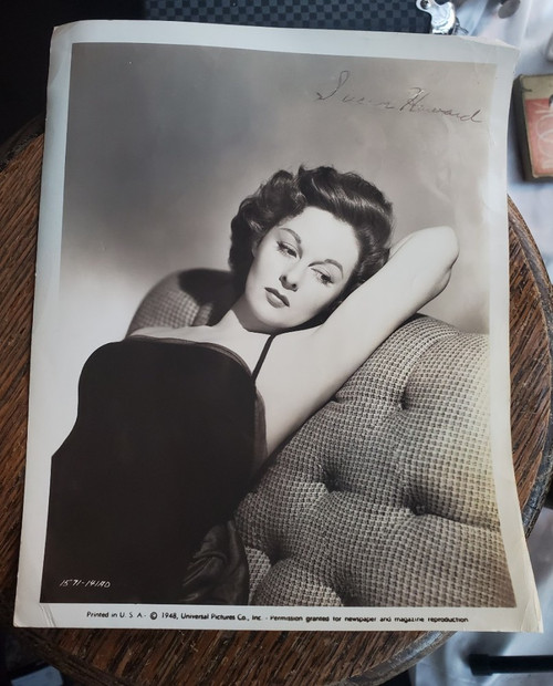 Susan Hayward Vintage 8x10 B&W Photo Universal Pictures 1948 Hollywood Glossy