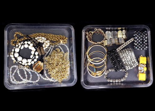 Vintage Large Lot of Costume Bracelets and Necklaces Jewelry Set 788.11g