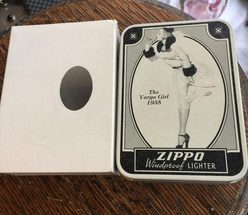NOS Zippo Lighter The Varga Girl 1935 Benny Goodman's Driver- Never Used w Box