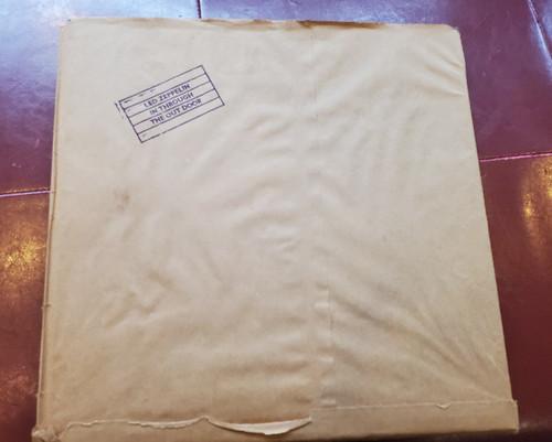 "Led Zeppelin LP ""In Through The Out Door"" 1979 Vinyl SS 16002 ""F"" Paper Bag!"