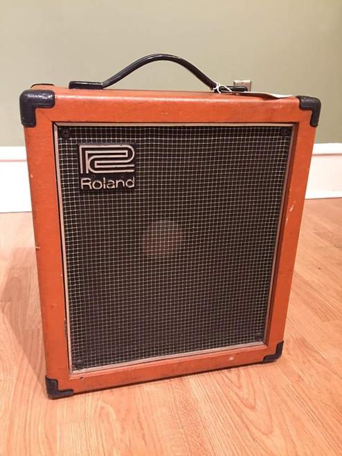 Vintage 1970's MIJ Roland Cube 100~Solid State Combo Amp Orange Tolex 100W, LOUD