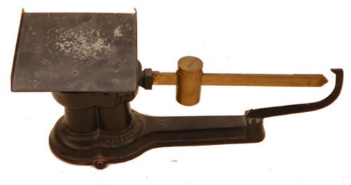 Antique Deco 1932 Cast Iron & Brass Howe Industrial Postal Scale
