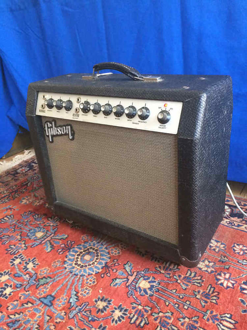 Vintage 1965 Gibson GA-20 RVT Minuteman Combo Tube Amplifier Original Footswitch