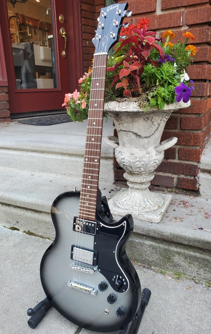 2011 Gibson L6-S Reissue Silver Burst Guitar~Excellent Rotary Switch & Gig Bag