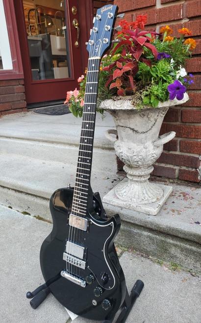 1976 Gibson L6-S Custom Guitar Ebony Finish 6 Way Rotary~VG+ Player Grade w Case