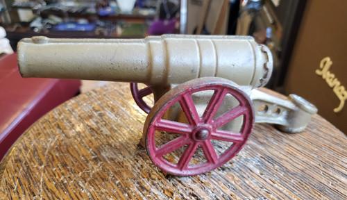 "Vintage 1950s Big-Bang Light Field Gun Toy Cannon 6F Conestoga Co 6.5"" No Breech"