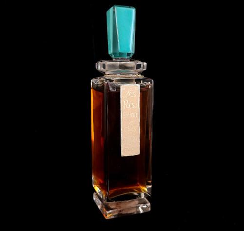 Antique Deco Les Pois de Senteur de Chez Moi Caron Baccarat Bottle Sealed 2.9oz