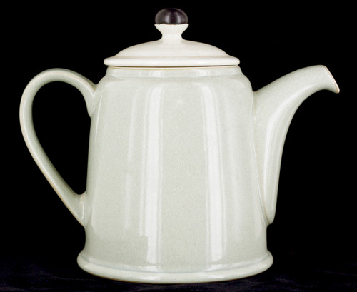 Vintage Denby England Speckled Green White Teapot Energy Collection