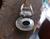 "Vintage Bali Sterling Black Onyx Gemstone Large Bail Embellished Pendant 1.5"""