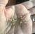 Vintage Krementz Yellow Gold Pl Dogwood Flower Cultured Pearl Screw Bk Earrings