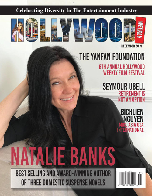 Original Signed By Author New Copy of Hollywood Weekly
